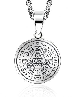 Adogeo Viking Seals Of The Seven Archangels Pendant