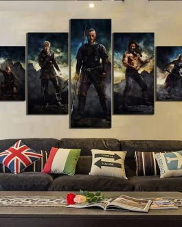 Adogeo Art HD Pictures Vikings Movie Poster Canvas