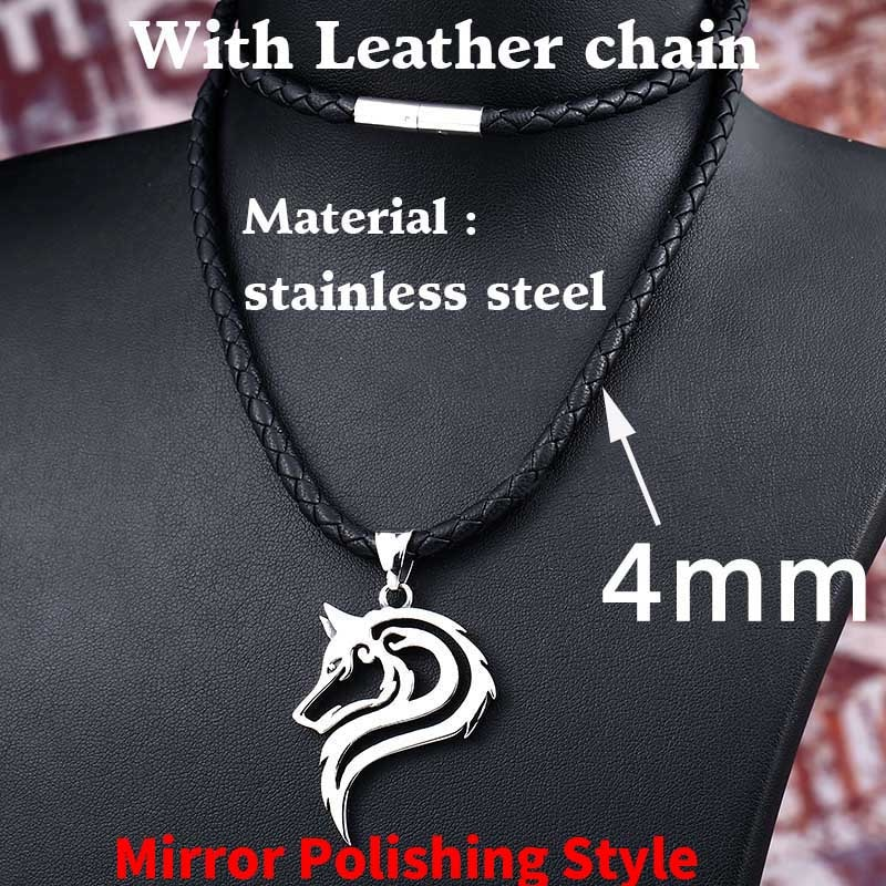 Mirror Leather rope