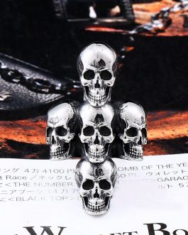 Adogeo 316L Stainless Steel ring Fashion Cross Skull Men's Ring High-quality jewelry