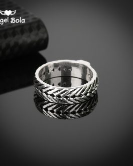 Adogeo 10pcs/lot Hot Sale Ring for Men Male Ancient Silver Chain Retro Style Gothic Viking Eternity Biker Buddha Ring Jewelry Fingdings