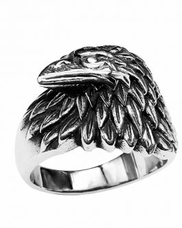 Adogeo Punk Men 'S Ring Male Gothic Gold Finger Eagle Rings For Women Punk Jewelry Stainless Steel Quality Jewelry